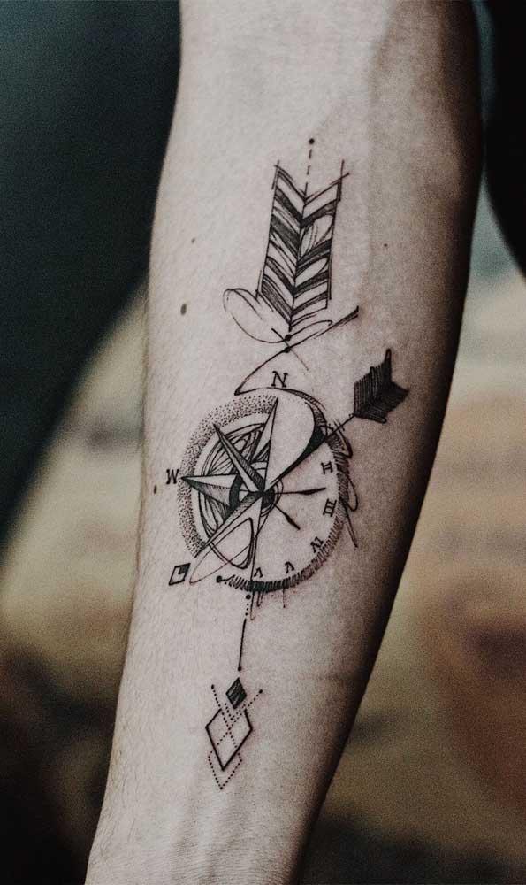A harmonia perfeita entre flecha e relógio para você acertar o seu alvo mais rápido.