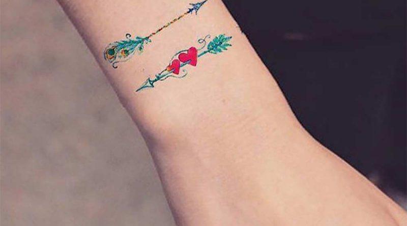 Tatuagem de flecha: significados, tipos e fotos inspiradoras