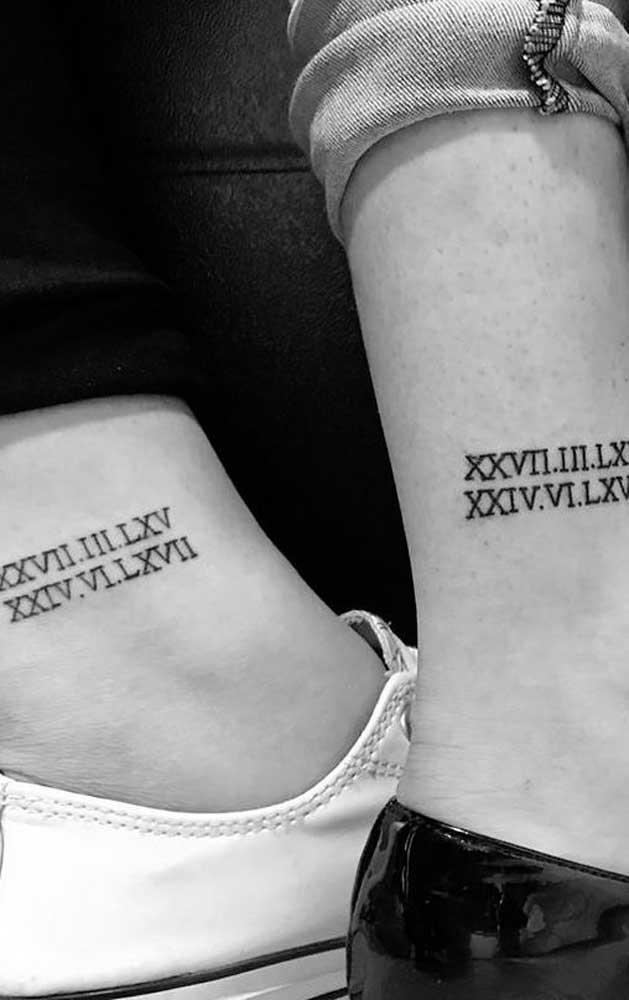 Faça algo que represente as duas irmãs.