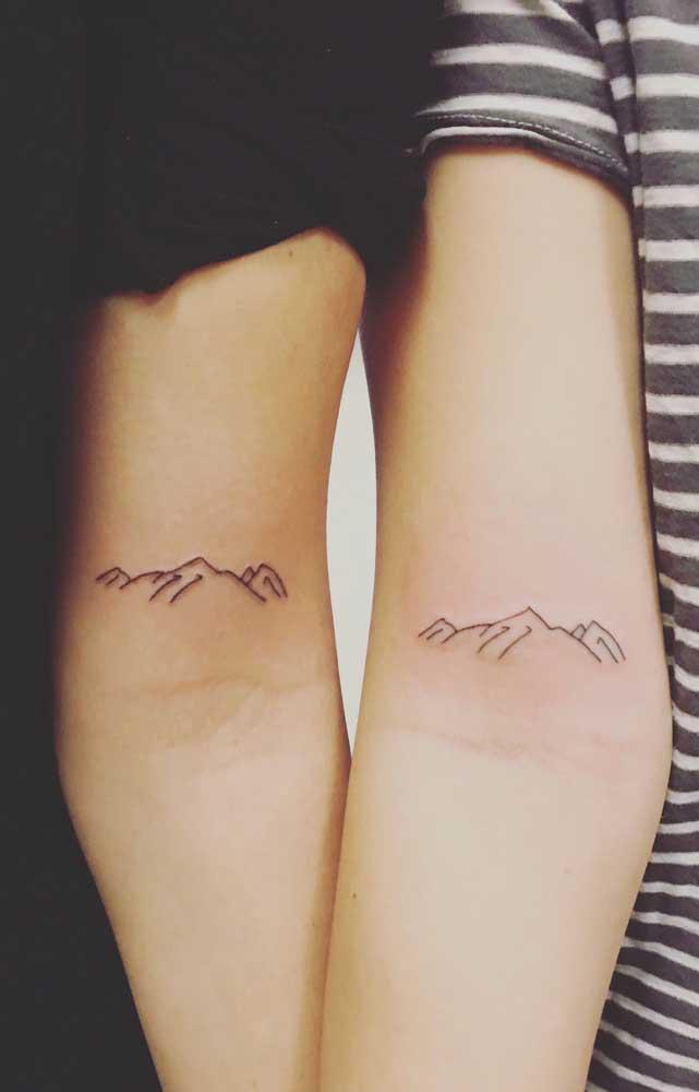 O que a montanha representa para as irmãs?
