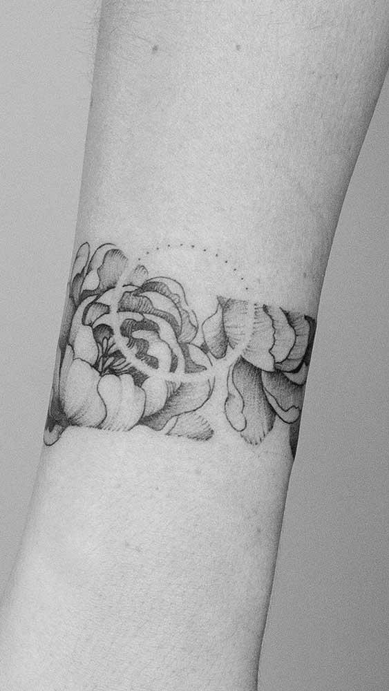 Faça uma mistura de figuras para deixar sua tattoo mais linda.