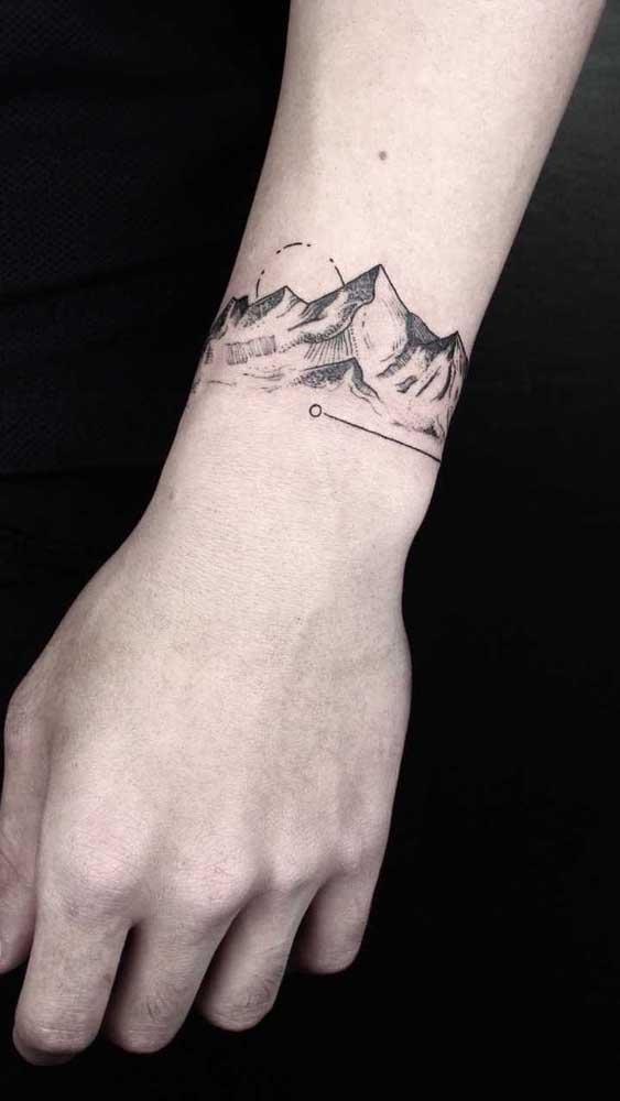 Você pode escolher algo significativo para sua vida na hora de fazer uma tattoo.