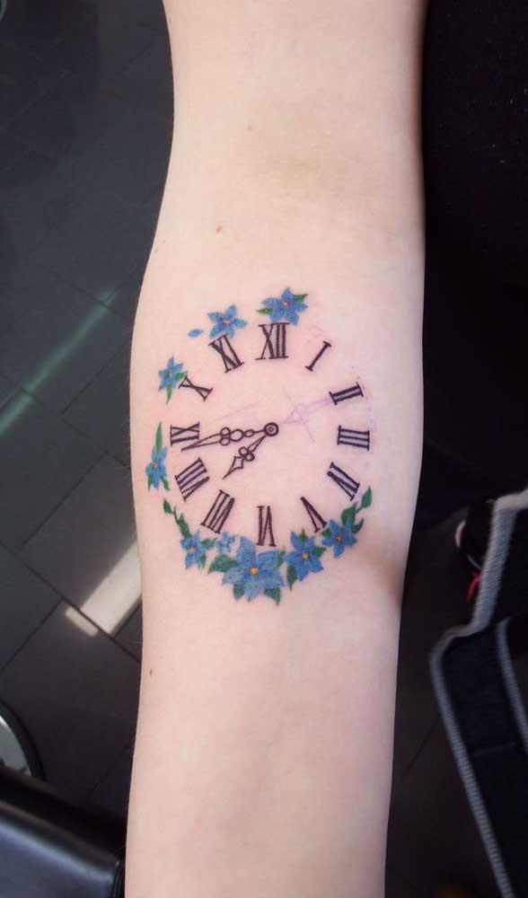 Escolha a tatuagem de relógio que melhor represente você.
