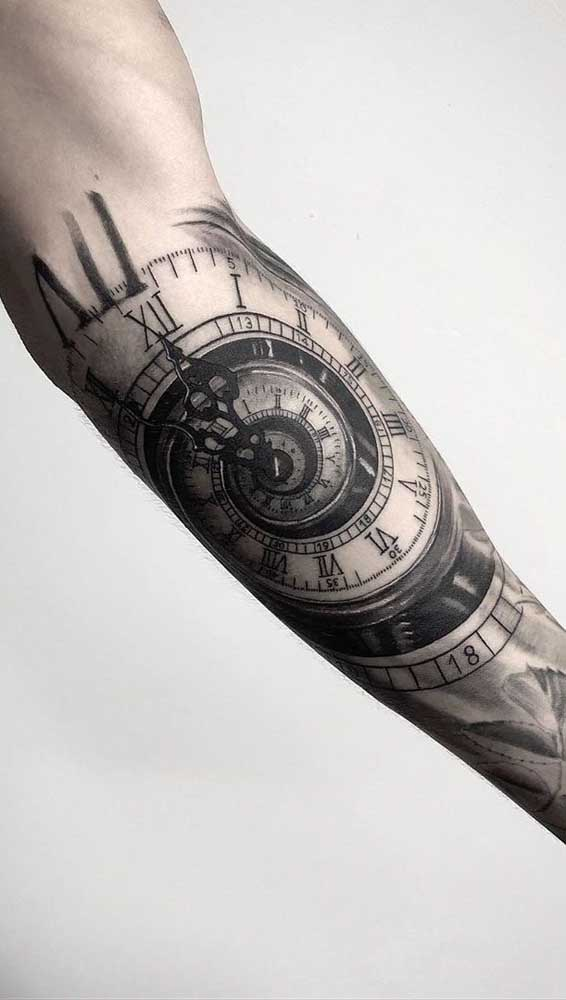 Se inspire nesses modelos de tatuagem para fazer a sua tattoo de relógio.