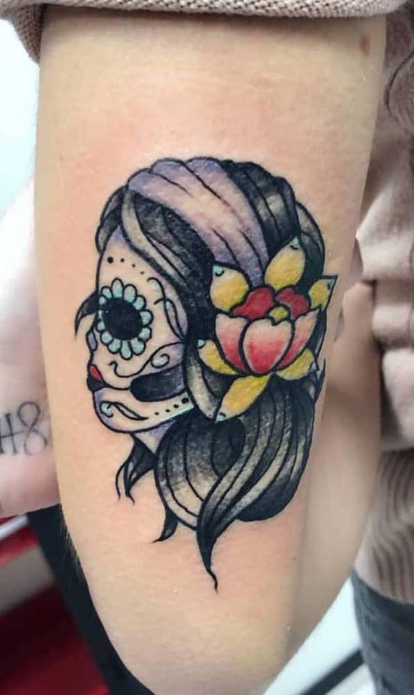 Você sabe qual o significado da tatuagem catrina?