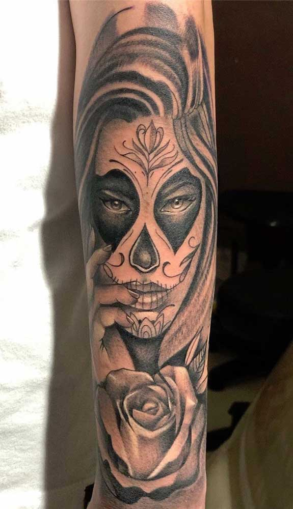Você já escolheu a parte do corpo onde vai fazer a tatuagem catrina?