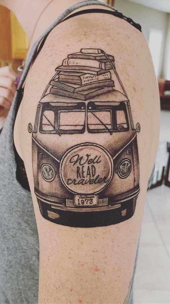 O que acha de unir duas paixões? Livros e viagens!