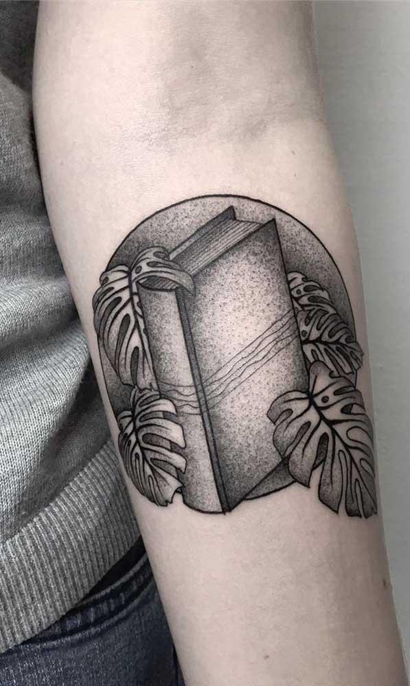 O livro pode ser um complemento da sua tatuagem.