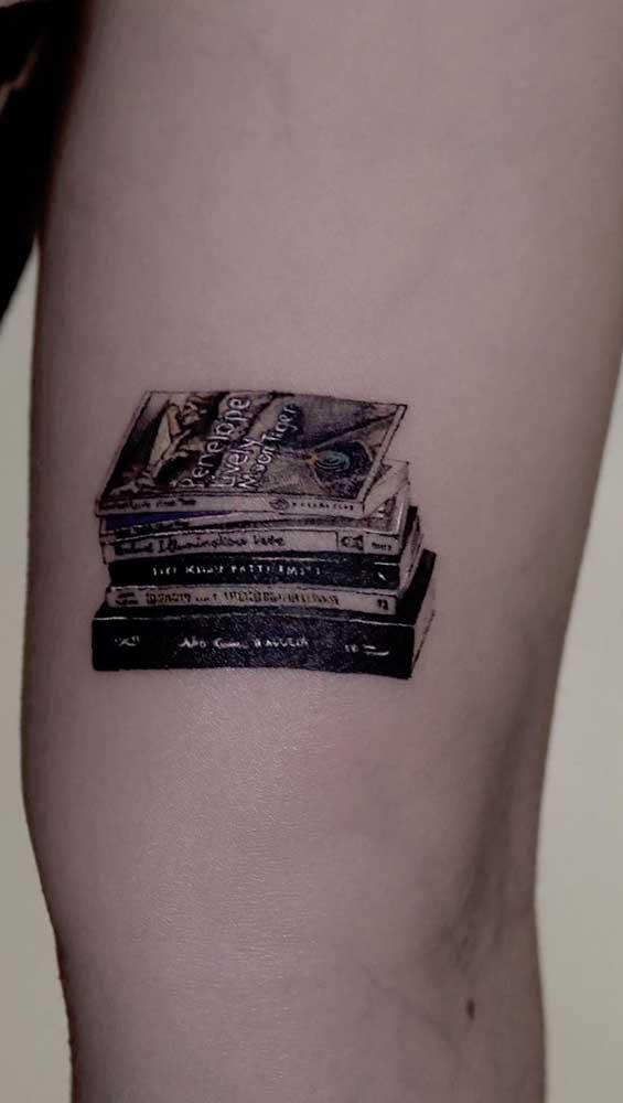 Ou o elemento principal da tattoo.