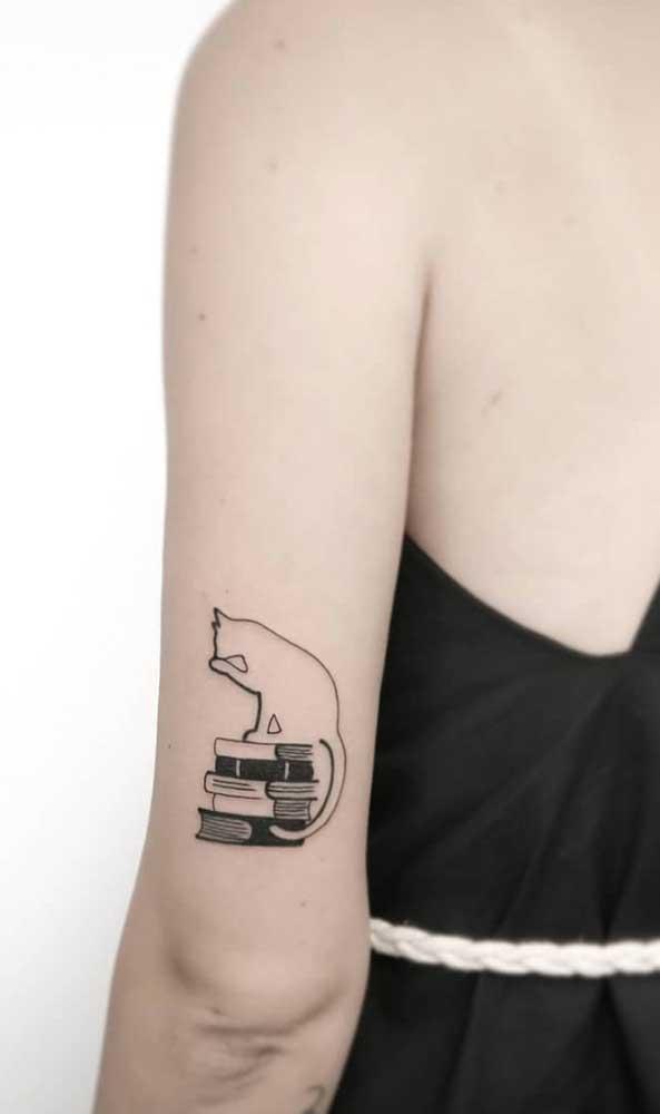 O que acha de fazer uma tatuagem bem discreta para colocar no seu braço?