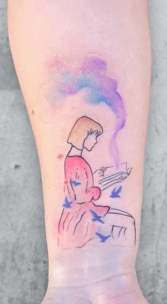 Priorize fazer uma tatuagem que realmente tenha algum significado para você.