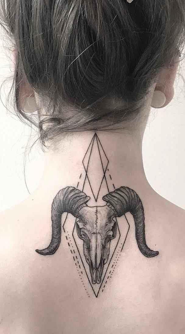 Você já sabe qual símbolo vai usar na sua tatuagem na nuca?