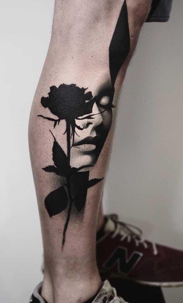 Algumas tatuagens são verdadeiras obras de arte.
