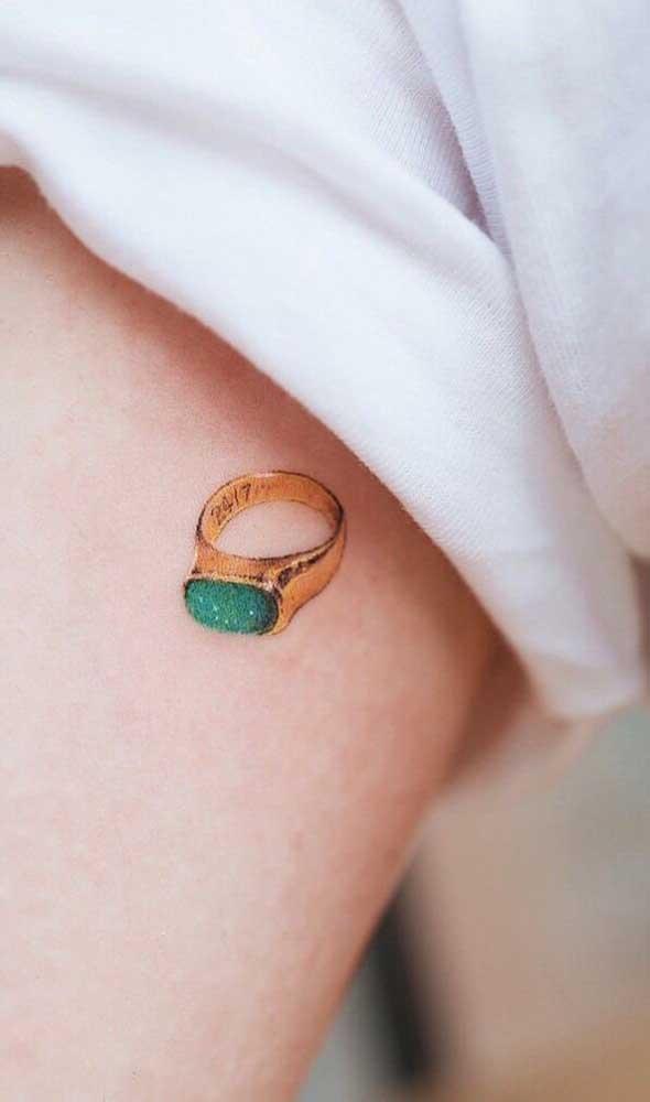 Qual tatuagem fofa e delicada você deseja fazer?