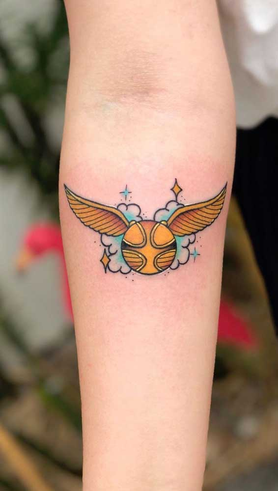 Uma paixão transformada em tattoo.