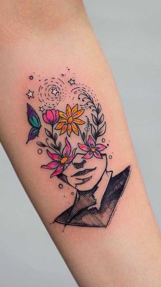 A tatuagem pode dizer muito sobre você.