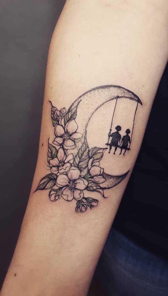 Uma tatuagem fofa, simples e pequena para chamar de seu.