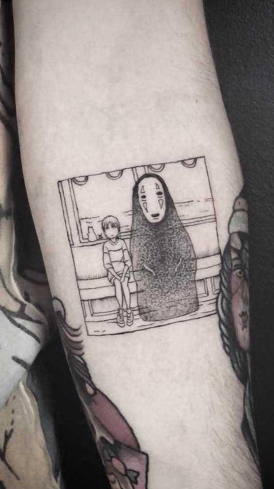 Independente do desenho escolhido a tatuagem fofa deve ter traços delicados.