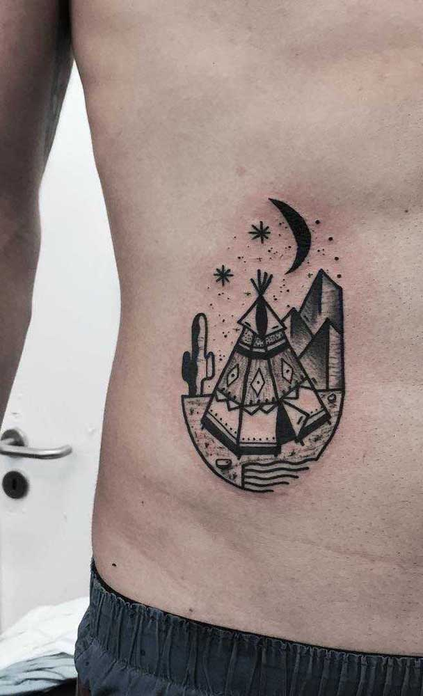 Que tal tatuar aquele local inesquecível para você?