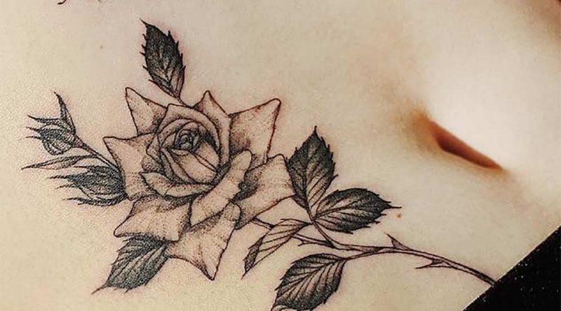 Tatuagem na barriga: 60 ideias e inspirações para você conferir