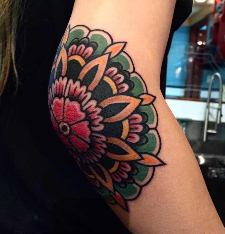 O mais interessante da tatuagem old school é que você pode usar diferentes formas.