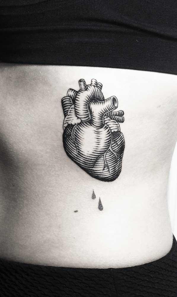Mas quem sabe você prefira um coração pulsando?