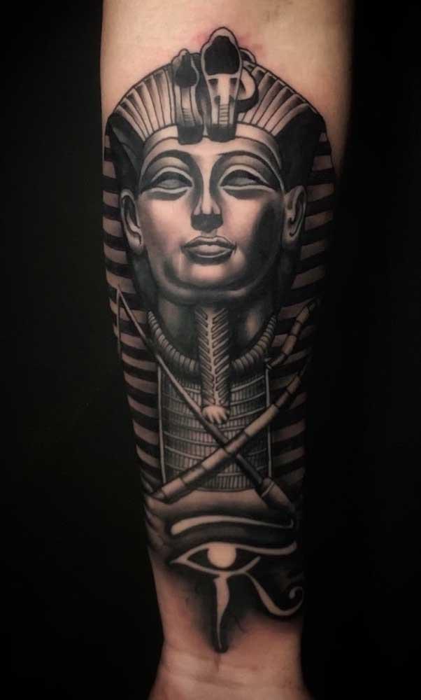 A força e o poder do faraó!