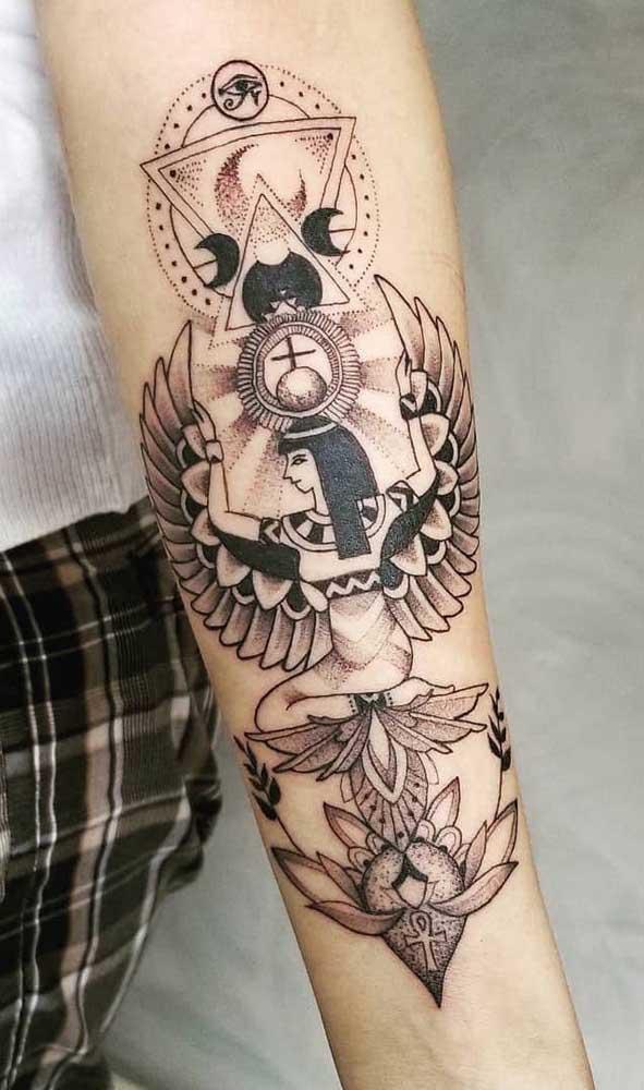 Mais do que estética, as tatuagens egípcias são repletas de significados