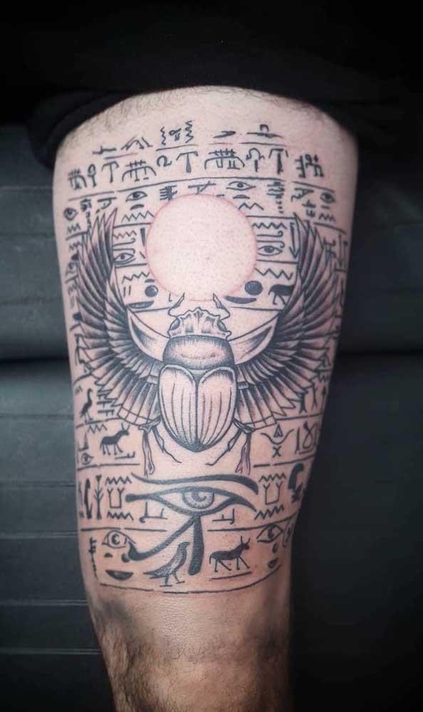 As tatuagens egípcias dizem muito sobre a vida após a morte, algo em que os egípcios acreditavam muito