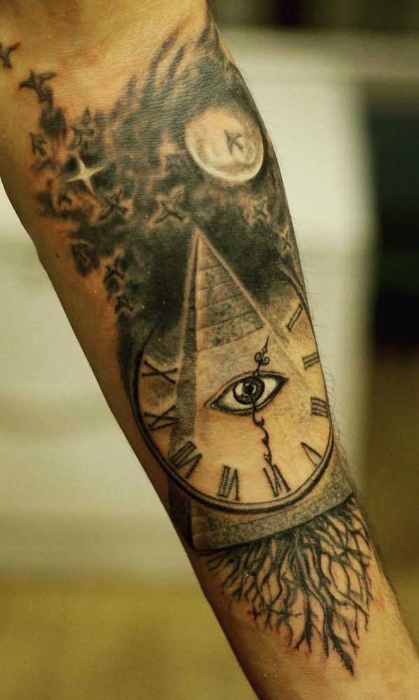 O tempo controlado pelo Olho de Hórus