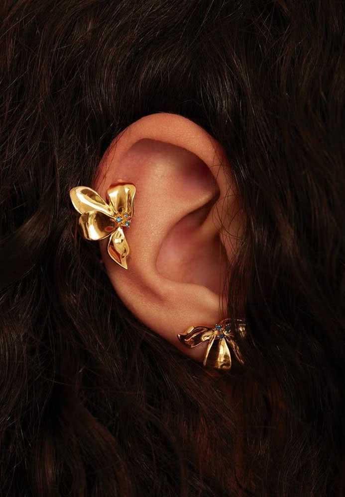 Um laço nas orelhas